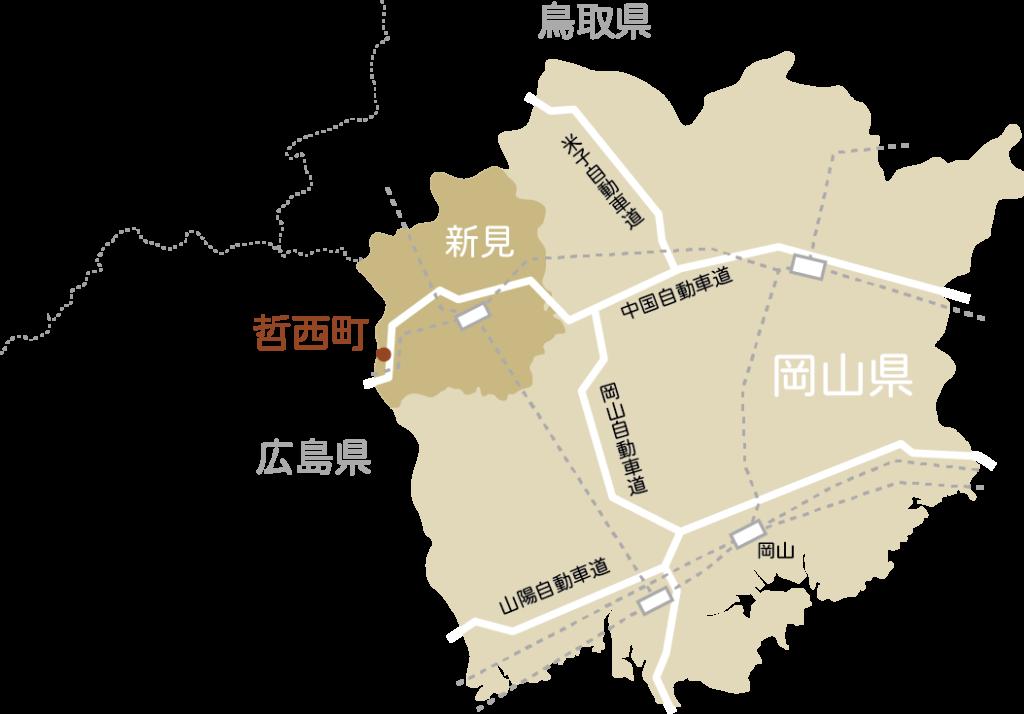 戸川木材広域マップ